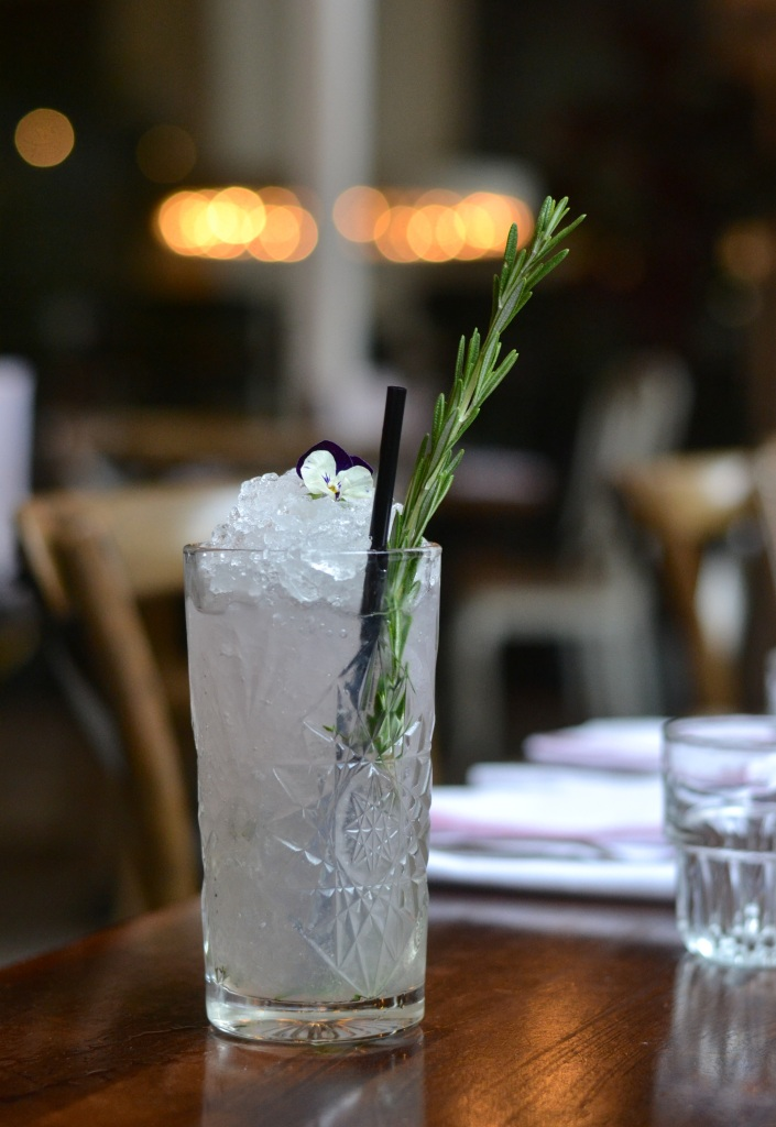 The Lost and Found's lavender-inspired cocktail